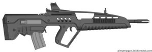 XM8 A2 Bullpup by Gods-warfighter