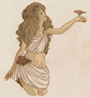 Persephone, Goddess of Spring