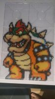 Bowser perler by chopperman199