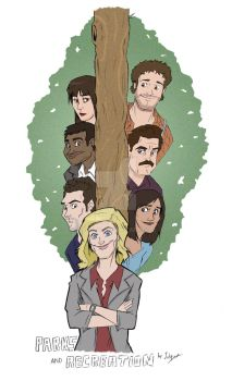 Parks and Recreation by Julipy