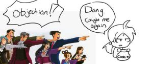 You've Been Objection'd by Chibidoodles