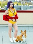 Faye and Ein by yayacosplay