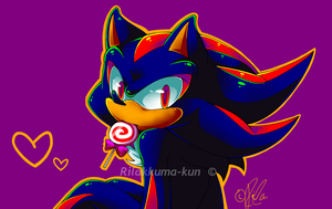 Shadow lollipop by Rilakkuma-kun