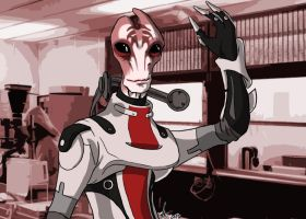 Mordin Solus by canius