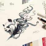 153- Disappearing Panda 2 by Lucky978