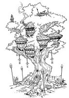the treehouse inks by travisJhanson