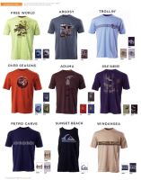Quiksilver Tees by mattlorentz