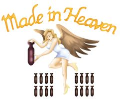 RE2 - Made In Heaven logo by ryuuza-art