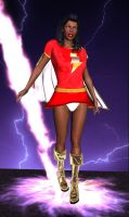 Mary Marvel by cattle6