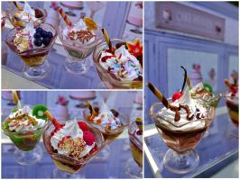 1/3 scale parfaits by LittlestSweetShop