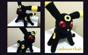 Umbreon Plush #7 by CeltysShadow