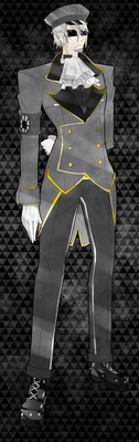 Color-Code: Sir Grey by D3athSc4the