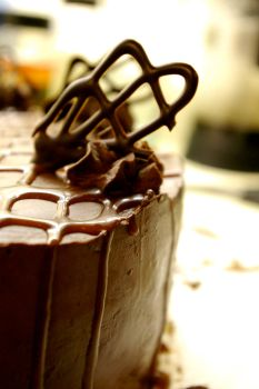 Chocolate Cake by chiziwhiteafrican