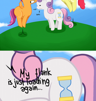 My little comics: Flank.png [Animated] by Lucky-Jacky