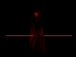 Darth Maul by livinlovindude