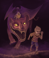 Art trade-Ultimate chimera by Pink-Death-Pigeon