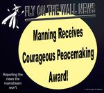 Manning Receives Courageous Peacemaking Award! by IAmTheUnison
