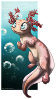 Diving for Bubbles by anouki-morgenstern