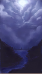 Night Clouds Practice by Luddieieieee