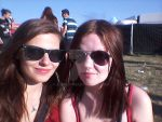 with bff on festival by AloneJane