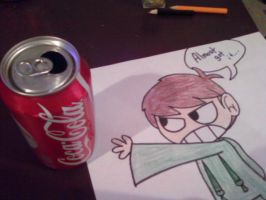 Edd needs his Cola by MochaTheDog