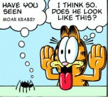 garfield likes moar krabs by wecato