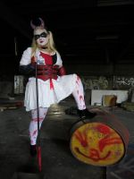 Harley's halloween costume by WeepingclovnCosplays