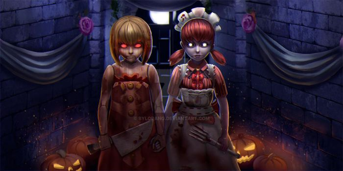 Twins by bylorang
