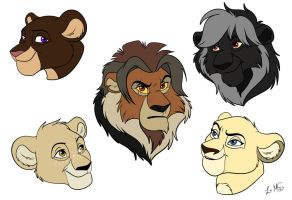 Mini Heads Commissions by Miss-Melis