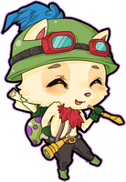 Captain Teemo on duty by pawnawn