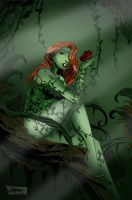 Poison Ivy - Color Practise by Sunny-X-Ray