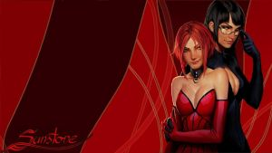 Wallpaper sunstone 1920*1080 entitled by arkadeievitch