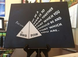 Black Prism by Brent Weeks (Click for image) by RaelynnMarie