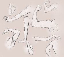 Arms and hands by moni158