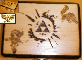Zelda's Box by HevyPyrography