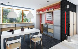 house project SAMAR interior 6 by Antioksidantas