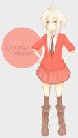 Schoolgirl Everie by captainkneenah