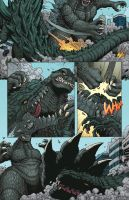 Godzilla: ROE issue 2 - page 4 by KaijuSamurai