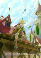 RAXXON-Nilliam on roofs by Nephyla