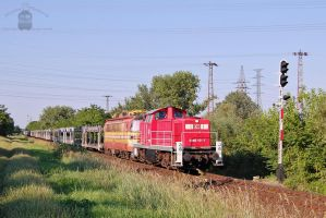 0469 101-7 and 240 088-5 w. freight train by morpheus880223