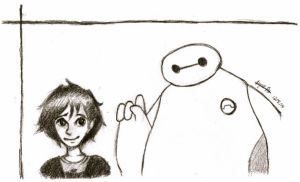 BH6 - Hiro and Baymax by gpStar00