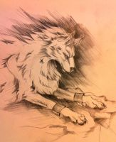 White Wolf Kiriban by Lucky978