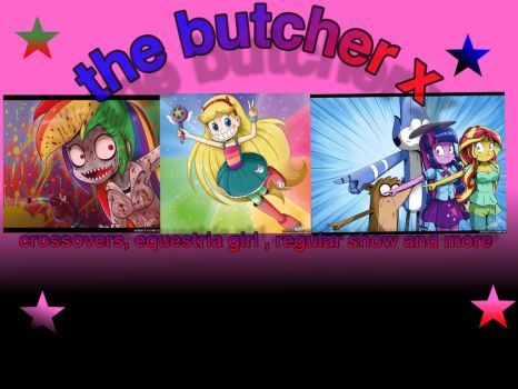 Logo de the butcher x by Gameplayomg