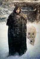 Jon Snow by Schindlersky