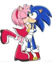 sonamy kiss (sonic x style, 2nd version, 2nd look) by trueloveheart94