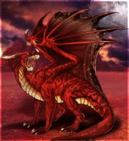 Red Dragon by Anglerfish5