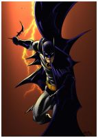 Batman by spidermanfan2099