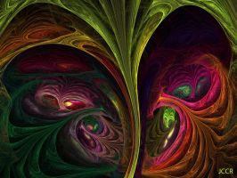 Crazy Mind by jccrfractals