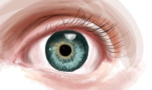 eye coloring practice by Chupchik