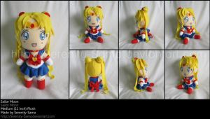 Plushie: Sailor Moon - SM by Serenity-Sama